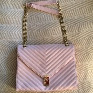 JustFab Quilted Chain Shoulder Bag